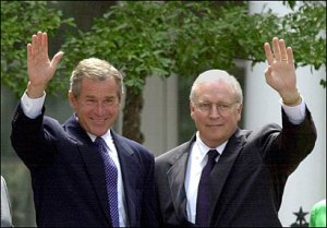 Bush e Cheney, comparsas