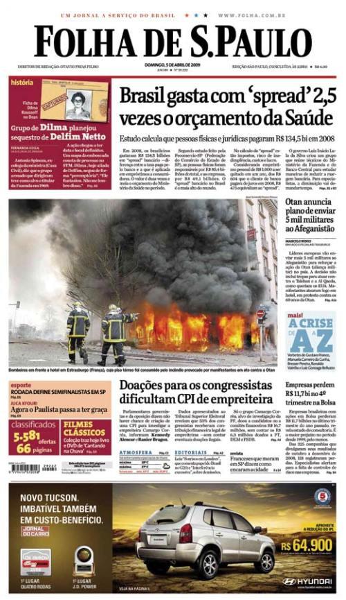 Falha de São Paulo, 05/04/2009