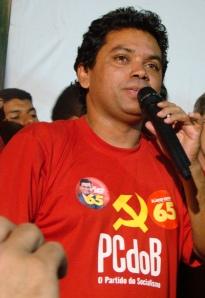 Marcio Jerry, presidente do PCdoB de Sâo Luís (MA)