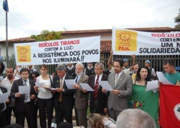 Foto: Jorge Francisco de Oliveira Guimarães/PSol