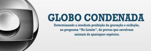 Globo condenada