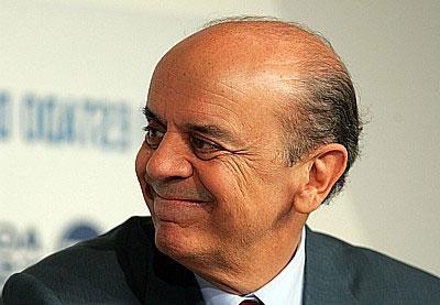 O governador de São Paulo não conteve o êxtase pela vitória do Rio
