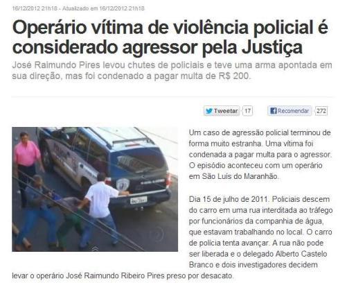 Polícia Maranhão