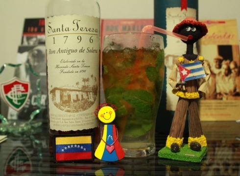 Super-Mega Mojito: receita cubana, rum venezuelano