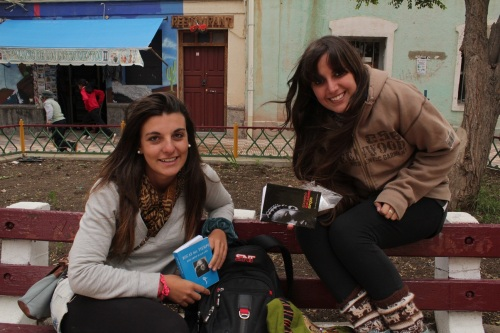 Julieta e Laura: de Mendonça para o Rio, com Galeano na bagagem (Foto: Rogério Tomaz Jr.)
