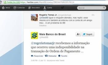 Twitter do Banco do Brasil