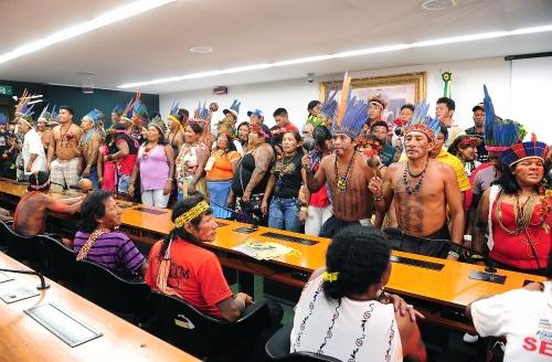 CDHM é trincheira para diversos atores sociais, como os povos indígenas (Foto: Gustavo Lima/Câmara)