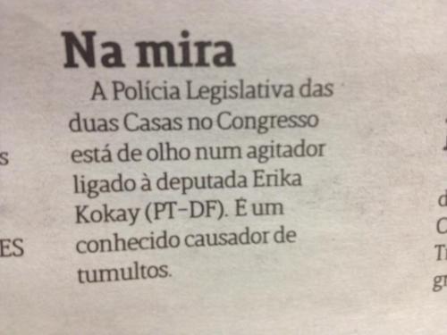 Jornalismo porta de cadeia sobrevive em Brasília (Foro: Reprodução do Jornal de Brasília, 01/03/2013)