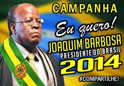 Joaquim Barbosa para presidente? Ou seria vice de Aécio?