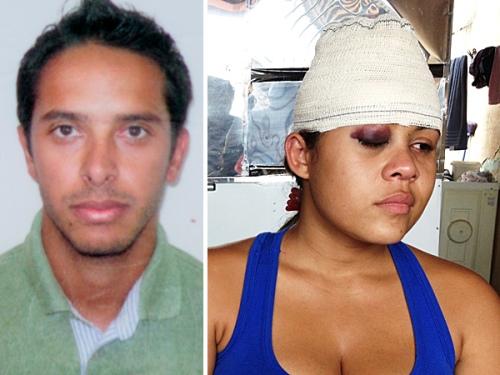 José Alves morreu. Karla Pamplona, a motorista, sobreviveu por pouco.