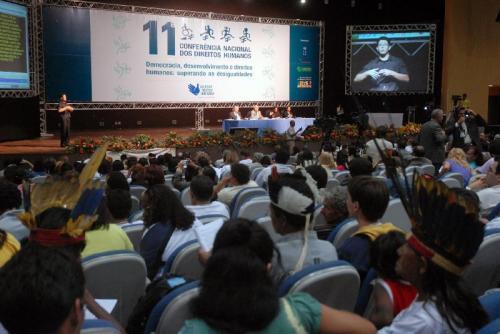 11ª Conferência Nacional dos Direitos Humanos (Foto: Antonio Cruz/Agência Brasil)