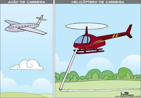 Helicóptero de carreira