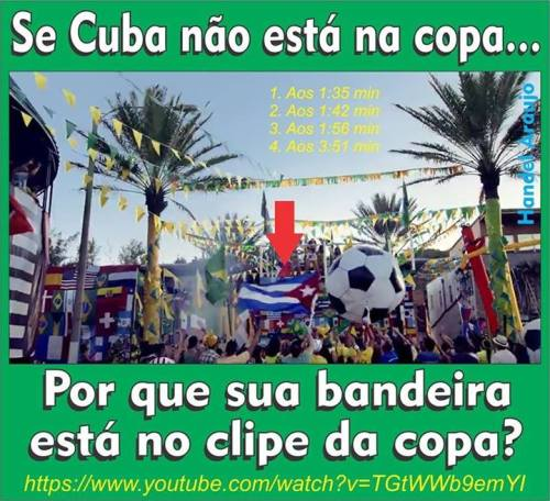 A FIFA é comunista e é controlada por Cuba!