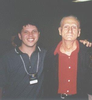 Primeiro encontro com o mestre. Recife, junho de 2000.