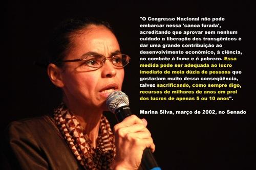 Marina Silva no Senado em 2002