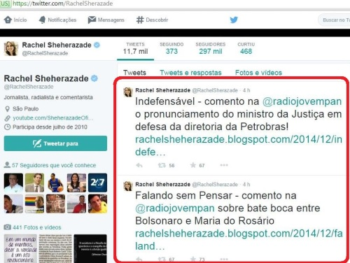 """""""Indefensável"""" para Sheherazade é defender a Petrobras... já Bolsonaro é bastante defensável"""